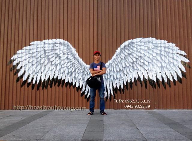 Vẽ tranh tường 3D cho siêu thị Emart